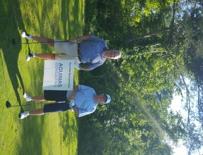 SIM Golf Tournament Terry and Don